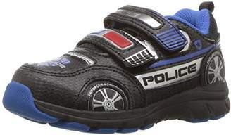 Stride Rite Boys' Vroomz Police Car Sneaker