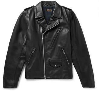 Beams Leather Biker Jacket