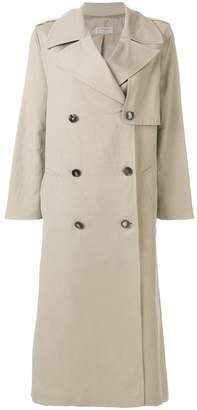 Alberto Biani double-breasted trench coat