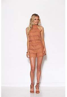 Ministry of Style Lace Up Romper