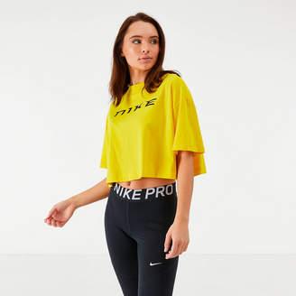 Nike Women's Sportswear Snake Crop T-Shirt