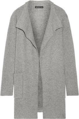 James Perse - Waffle-knit Cashmere Cardigan - Gray $495 thestylecure.com