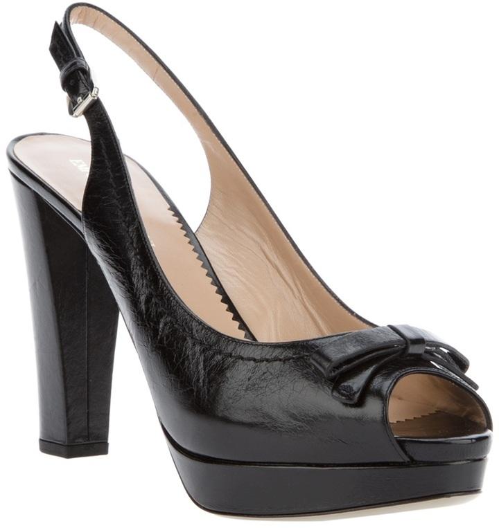 Emporio Armani Platform sandal