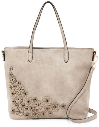 Urban Expressions Floral Vegan Leather Tote $110 thestylecure.com