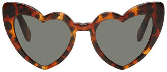 Saint Laurent Tortoiseshell SL 181 Loulou Sunglasses