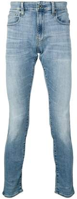G Star Research low rise skinny jeans