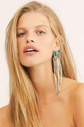 Free People Sugarland Fringe Earrings