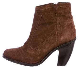 Opening Ceremony Pioneer Suede Ankle Boots