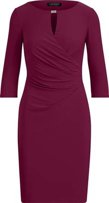 Ralph Lauren Keyhole Stretch Jersey Dress