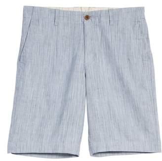Tommy Bahama Harbor Herringbone Linen Blend Shorts
