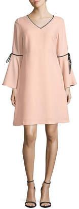 Nanette Lepore Nanette V-Neck Fit-&-Flare Dress