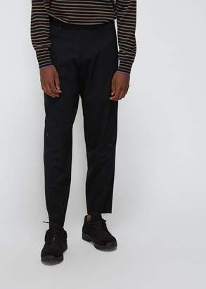 Yohji Yamamoto Stretch Twill Knee Pocket Pants