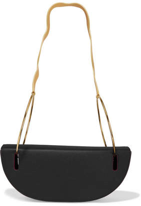 Roksanda Elba Textured-leather Shoulder Bag - Black