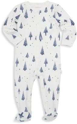 Petit Lem Baby Boy's Holiday Forest-Print Onesie