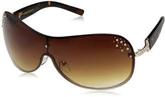 UNIONBAY Union Bay Women's U538 GLD Shield Sunglasses