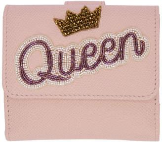 Dolce & Gabbana Pink Queen Flap Wallet