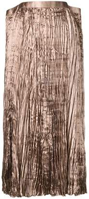 Junya Watanabe pleated flared skirt