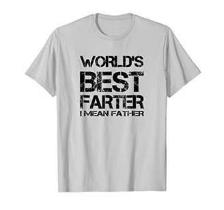 DAY Birger et Mikkelsen WORLDS BEST FARTER FATHER Funny T-Shirt Fathers Gift