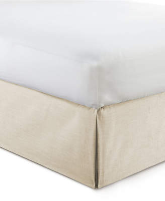 "Colcha Linens Cambric Vanilla Bedskirt 15"" Drop Twin/Twin-xl Bedding"