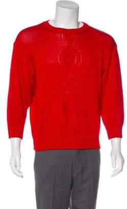 Salvatore Ferragamo Vintage Crew Neck Sweater red Vintage Crew Neck Sweater