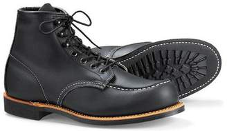 Red Wing Shoes Shoes Moc Boot in Rough & Tough Leather in Black