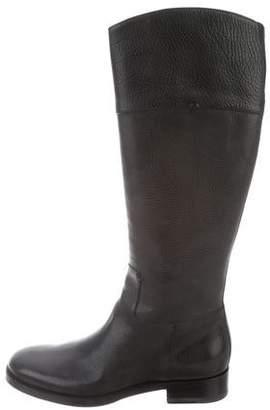 Santoni Asymmetrical Knee-High Boots w/ Tags