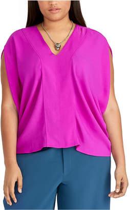 Rachel Roy Trendy Plus Size Claire Top