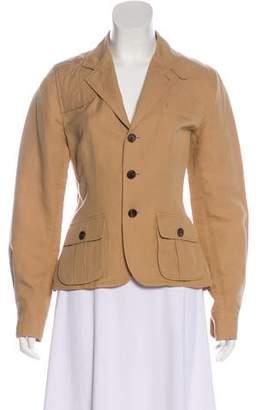 Ralph Lauren Black Label Notch-Lapel Button-Up Jacket