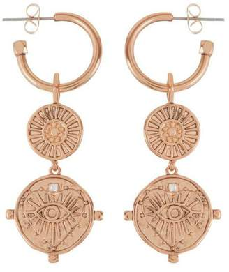 Luv Aj Double Coin Hoops
