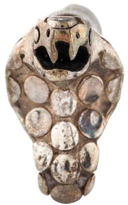 John Hardy Snake Lapel Pin