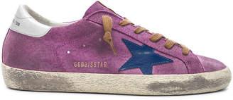 Golden Goose Suede Superstar Sneakers