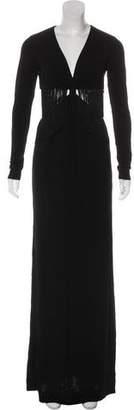Rachel Zoe Fringe Maxi Dress