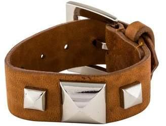 Fallon Pyramid Strap Bracelet