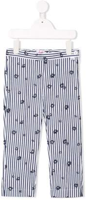 Il Gufo slim fit cropped trousers