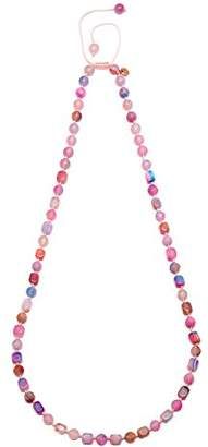 Lola Rose Maddison Candy Floss Mont Agate Necklace of Length 80-96cm