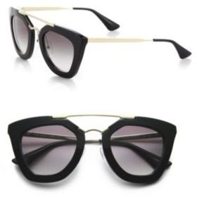 Prada Cat's-Eye Sunglasses $390 thestylecure.com