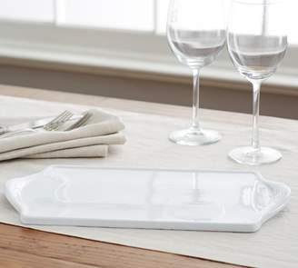 Pottery Barn Great White Cheese Tray