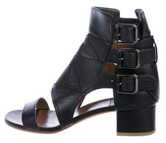 Laurence Dacade Leather Buckle Sandals