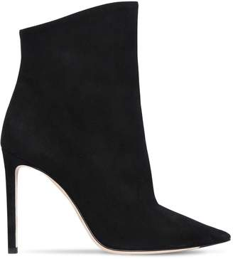 Jimmy Choo 100mm Helaine Suede Ankle Boots