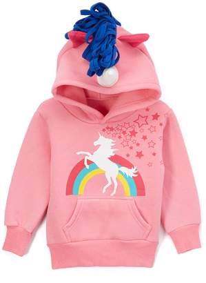 Doodle Pants Unicorn Hoodie (Baby & Toddler Girls)