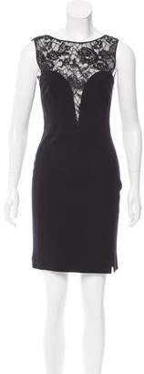 Emilio Pucci Lace-Accented Bodycon Dress