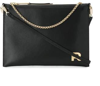 Rochas metallic chain tote bag