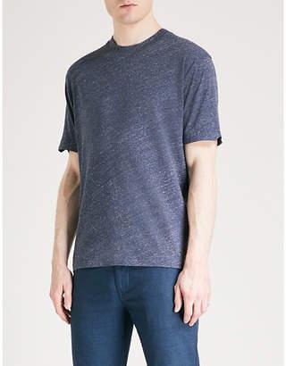BOSS ORANGE Marl effect cotton-jersey T-shirt