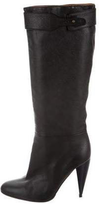 Lanvin Leather Knee-High Boots