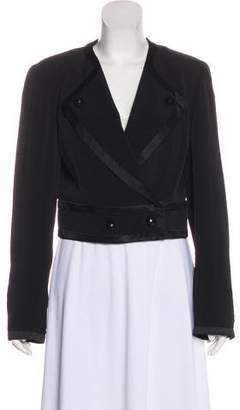 Ungaro Cropped Structured Blazer