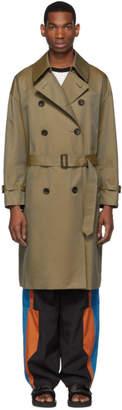 BEIGE N.Hoolywood Classic Trench Coat