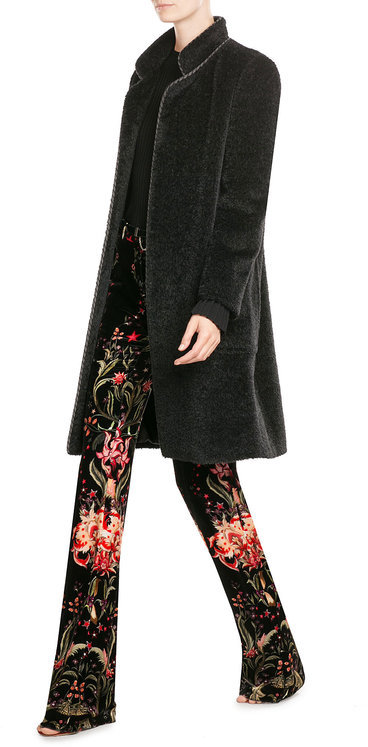 Max Mara Max Mara Belted Coat with Alpaca Wool and Virgin Wool