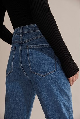 Country Road High Waist Straight Jean