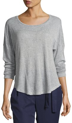 Bobeau High-Low Knit T-Shirt $35 thestylecure.com