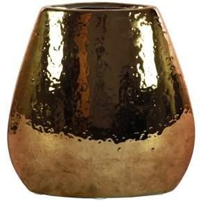 Urban Trends Collection: Stoneware Vase Chrome Antique Finish